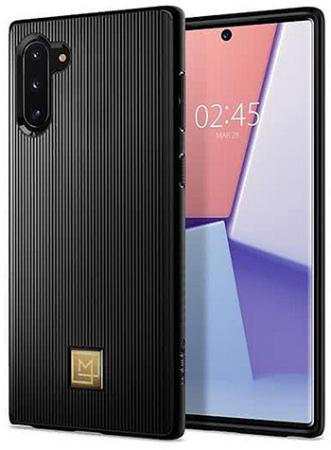 Spigen La Manon Classy for Galaxy Note 10, Black (628CS27410)