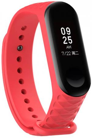 Ремешок для Xiaomi Ribbed Strap for Mi Band 3 Red