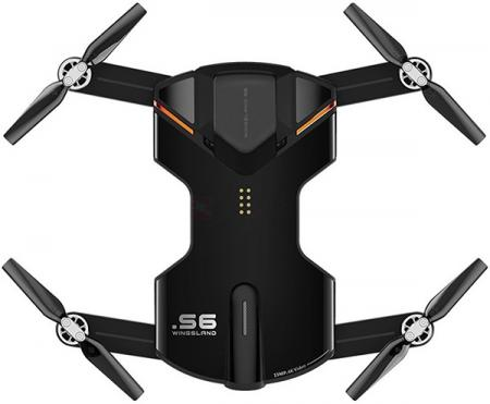 Wingsland S6 GPS 4K Pocket Drone Black (6381690)