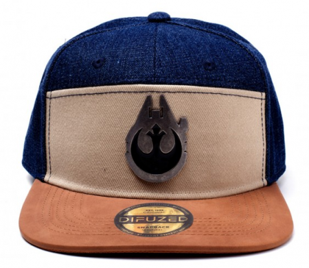 Difuzed Star Wars - Han Solo Millenium Falcon Metal Badge Snapback