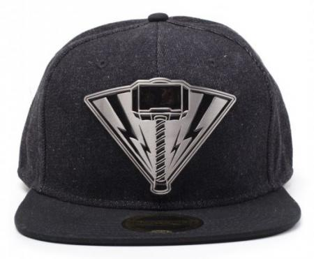 Difuzed Thor Ragnarok - Thor Metal Badge Denim Snapback