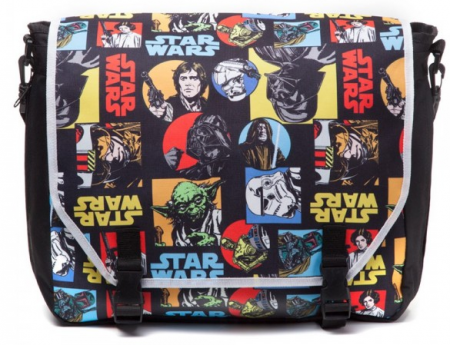 Difuzed Star Wars - Retro Characters Comic Style Messenger bag
