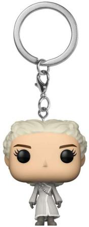 Funko Pocket POP! Keychain: Game of Thrones - Daenerys (White Coat)