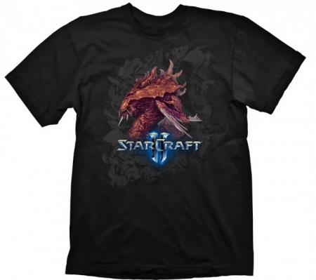 Gaya Starcraft 2 T-Shirt - Zerg Iconic XL