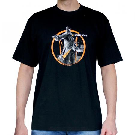 Abystyle Watch Dogs T-Shirt - Fox Tag, XS