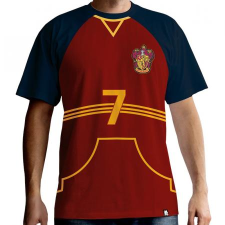 Abystyle Harry Potter T-Shirt - Quidditch Jersey, XL