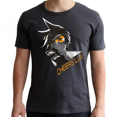 Abystyle Overwatch T-Shirt - Tracer, XXL