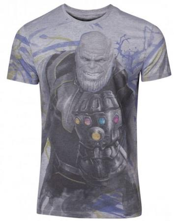 Difuzed Avengers: Infinity War - Thanos Men's T-shirt, M