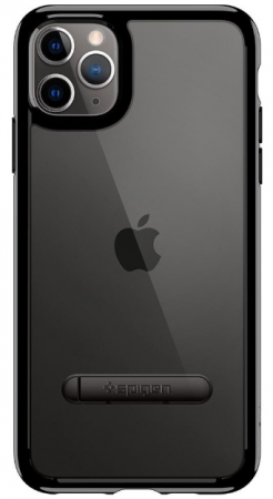 Spigen Ultra Hybrid S for iPhone 11 Pro, Jet Black (077CS27444)