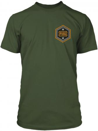JINX PUBG - Pan Man Premium Tee Surplus Green, L