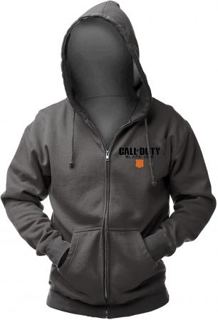 Gaya Zip Hoodie Call of Duty: Black Ops 4 - Patch Grey, S