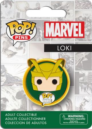 Funko POP! Pins: Marvel: Loki