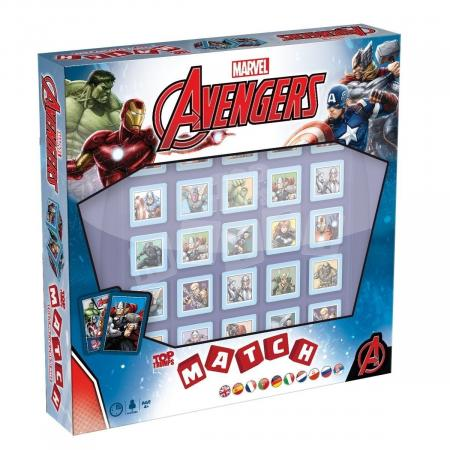 Winning Moves - Top Trumps Match Avengers Assemble (27496)