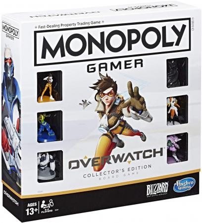 Hasbro Monopoly: Overwatch Collector's Edition