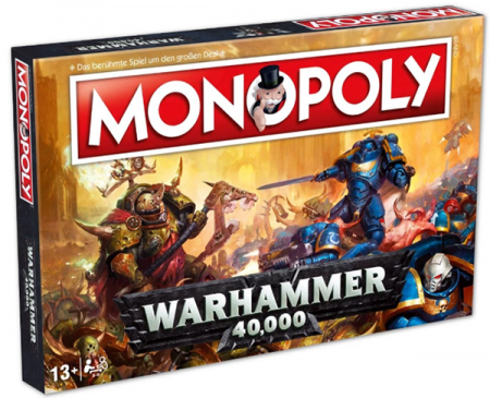Winning Moves Monopoly - Warhammer 40K (35484)