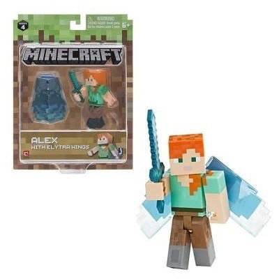 Jazwares Minecraft Alex with Elytra Wings серия 4 (16492M)
